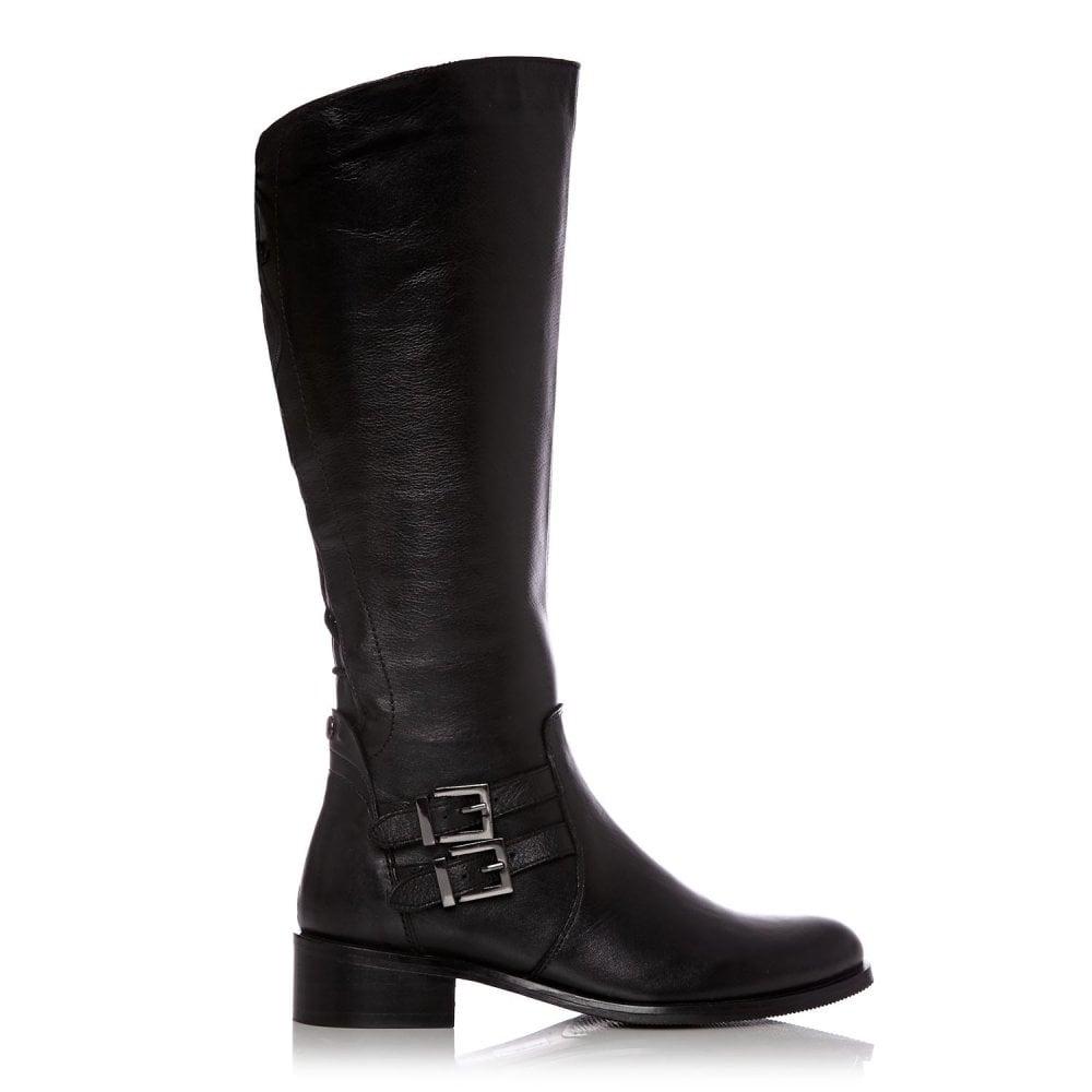 e5647337dd4 Salomone Black Leather - Boots from Moda in Pelle UK