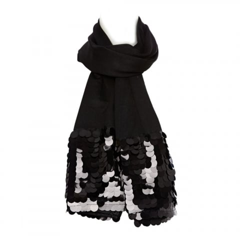 Sicillascarf Black Fabric