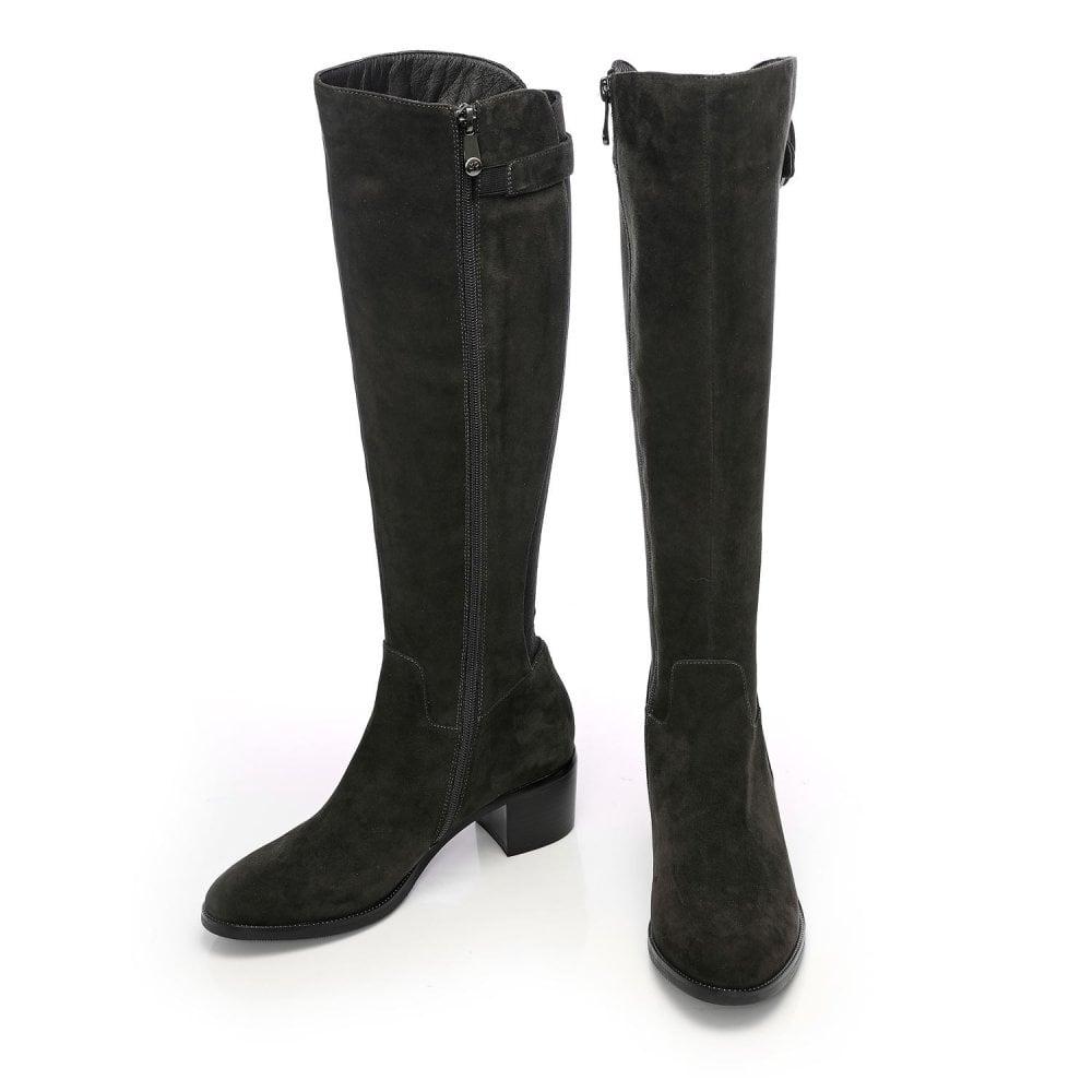 Starli Dark Grey Suede - Boots from