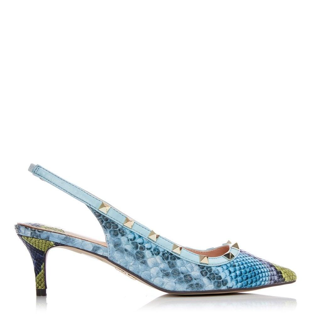 7693c22f8f Yazzie Blue Snake Print - Shoes from Moda in Pelle UK